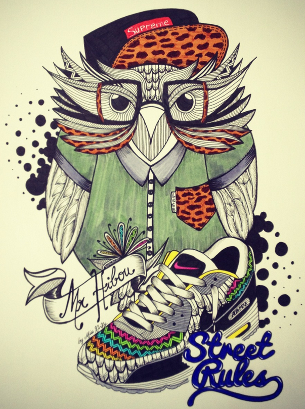 Mr Hibou by Miss Kinky