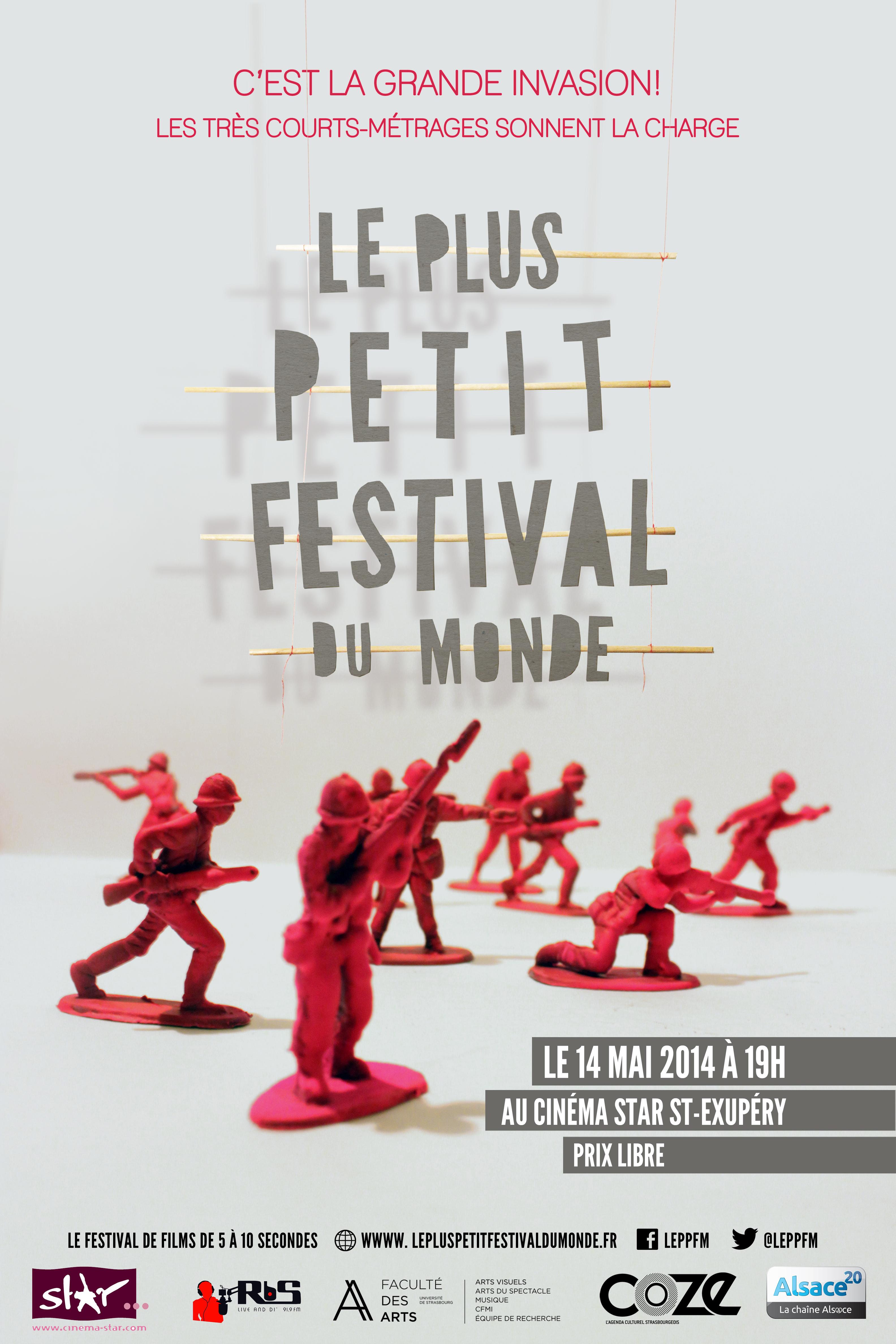 Le Plus Petit Festival du Monde - Affiche 2014