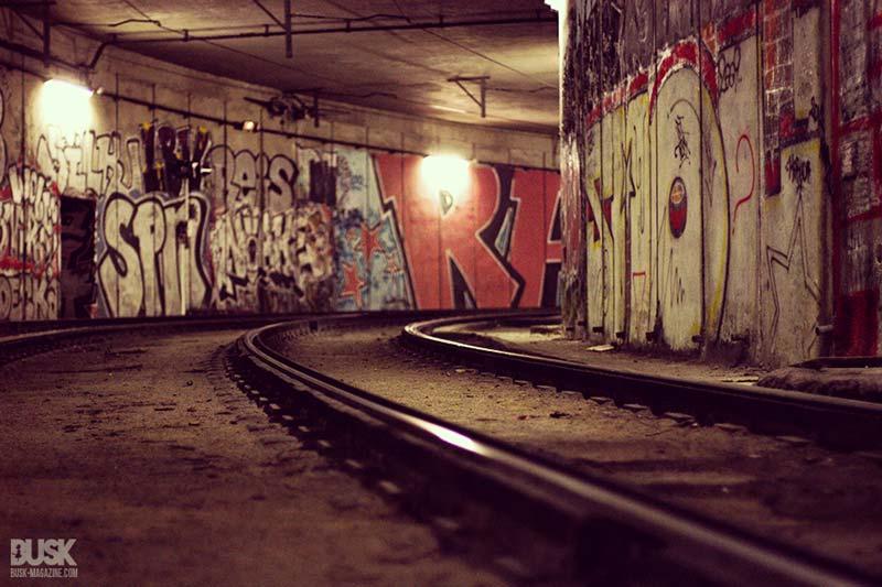 Tunnel Tram - Place de la Comédie