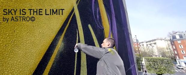 Il se passe des choses sur les murs de nos villes ! Voila encore une belle réalisation «SKY IS THE LIMIT» made by ASTRO© à Vitry-sur-Seine. Un immeuble, Une grue, […]