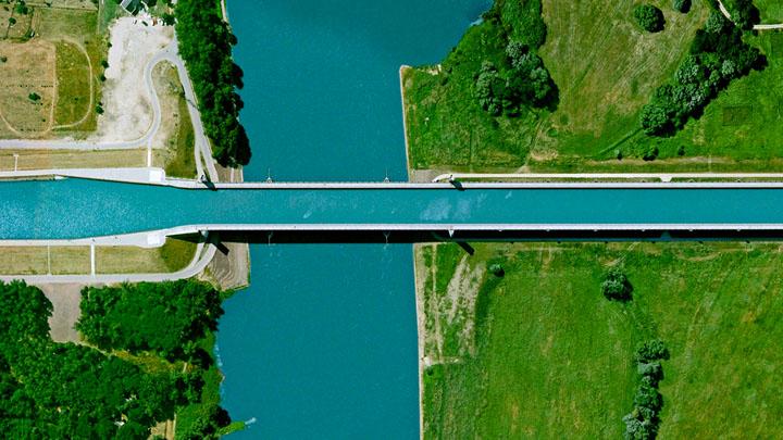 Magdeburg-Water-Bridge-Allemagne