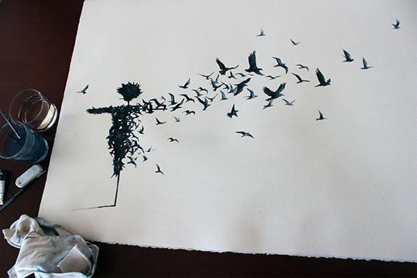 bird-paper