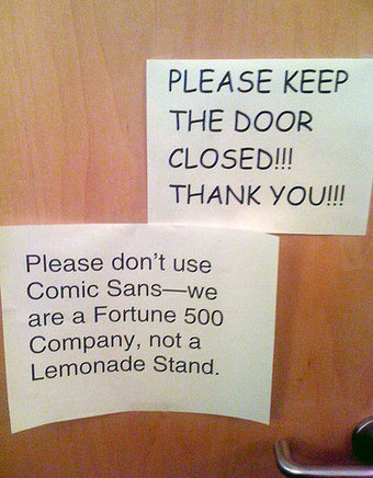 inkulte-no-comic-sans-please