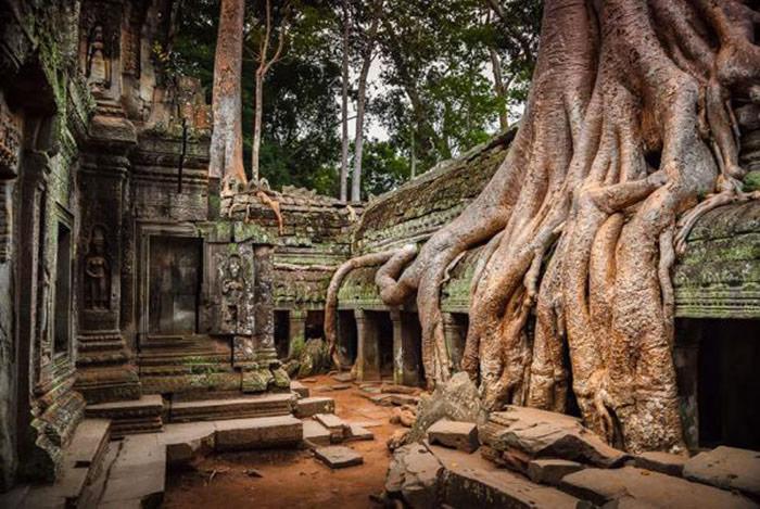 Site d'Angkor / Cambodge