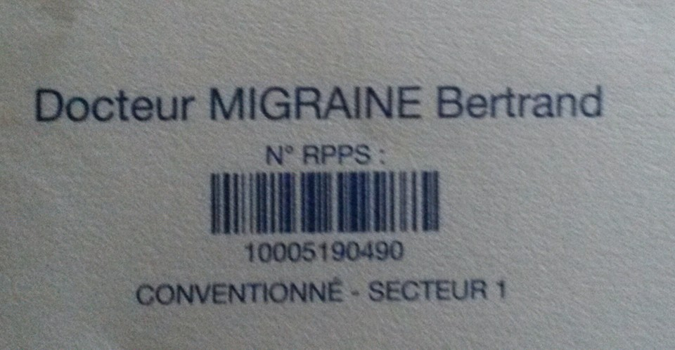 docteur migraine