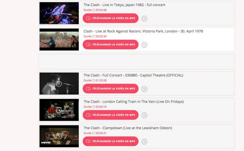 Youzik convertisseur Youtube au format MP3MP3